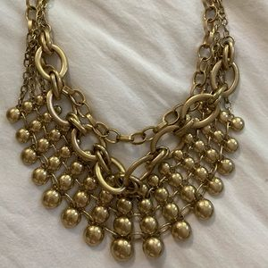Free People gold chain necklace